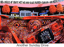 Marc Rubin, Another Sunday Drive, mixed media, 8 x 4 x 2 ft.