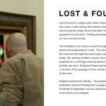 Marc Rubin, Lost & Found, interactive installation, mixed media, 12 x 12 x 12 ft.